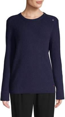 Escada Textured Wool-Blend Sweater