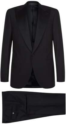 Corneliani Satin Lapel Wool Tuxedo