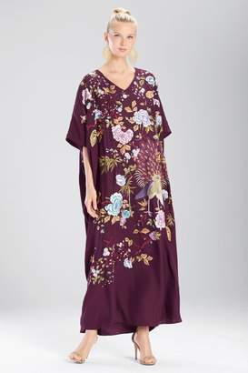 Josie Natori Couture Japanese Garden Caftan