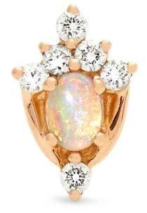 Maria Tash - Diamond, Opal & Rose Gold Earring - Womens - Rose Gold