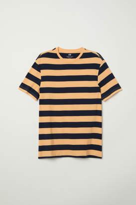 H&M T-shirt Regular fit - Orange