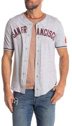 Red Jacket MLB San Francisco Moonlight Jersey Shirt