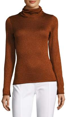 Alice + Olivia Women's Billi Slim Turtleneck Sweater