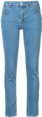 Julien David woven skinny jeans