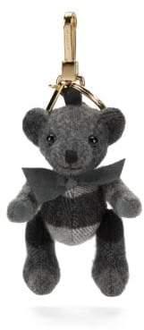 Burberry Thomas House Check Cashmere Bear Keychain