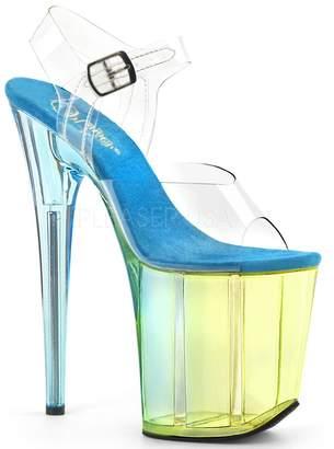 Pleaser USA Womens FLAMINGO-808MCT/C/LBL Sandals