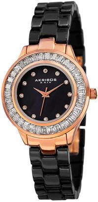 Akribos XXIV Women's Ceramic Watch