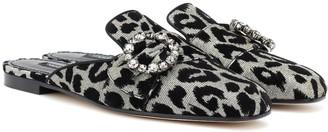 Dolce & Gabbana Jackie embellished slippers