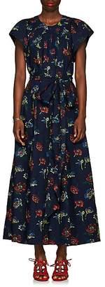 Ulla Johnson Women's Coralie Floral Cotton Poplin Wide-Leg Jumpsuit