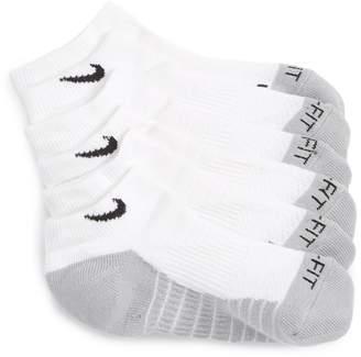 Nike 3-Pack Cushioned Dri-FIT No-Show Socks