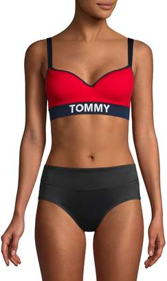 Tommy Hilfiger Colourblock Lightly Lined Bralette