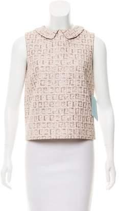 Rochas Textured Sleeveless Top