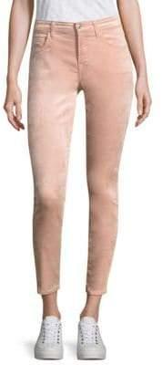 7 For All Mankind Velvet Ankle Skinny Jeans