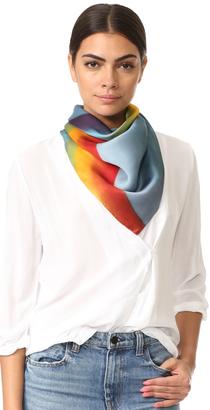 Marc Jacobs Rainbow Scarf $175 thestylecure.com