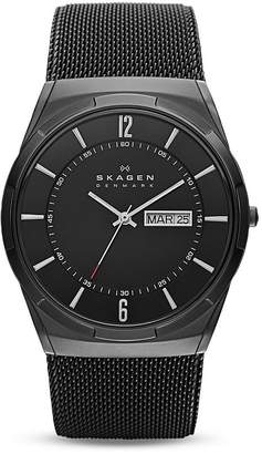 Skagen Melbye Titanium Mesh Bracelet Watch, 40mm