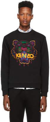 Kenzo Black Classic Tiger Sweatshirt