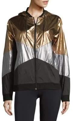 ASKYA Colorblock Windbreaker Jacket