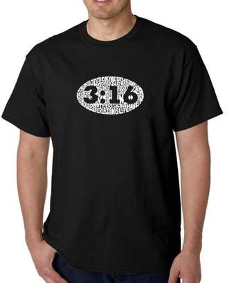Pop Culture Men's t-shirt - john 3:16