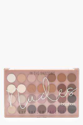 boohoo NEW Womens 28 Eyeshadow Palette in Brown size One Size