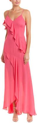 Parker Black Silk Gown