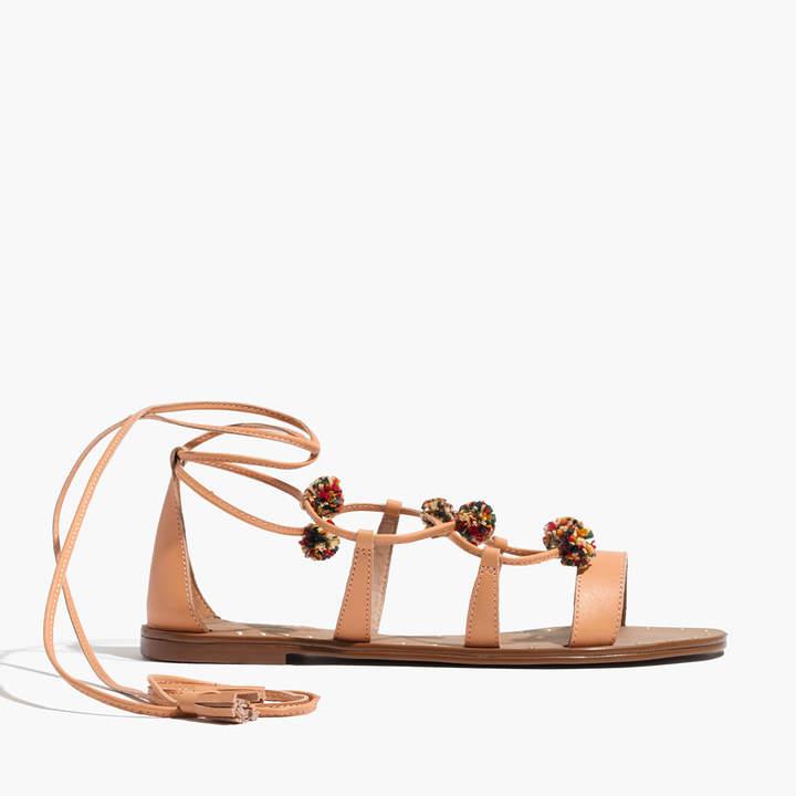 The Amira Pom-Pom Sandal