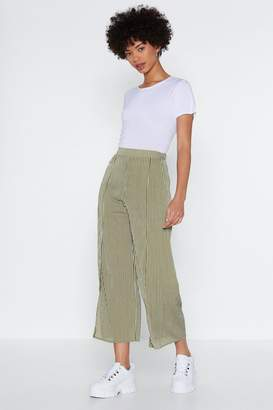 Nasty Gal Don't Slit On the Fence Striped Pants