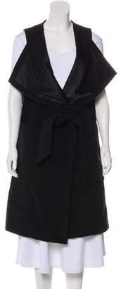Thomas Wylde Asymmetrical Longline Vest
