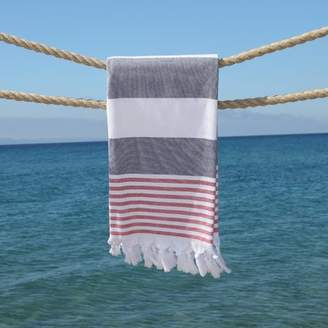 Linum Home Textiles Patriotic Pestemal Beach Towel