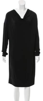 White + Warren Cowl Neck Knit Dress
