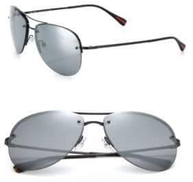 Prada 59MM Pilot Sunglasses
