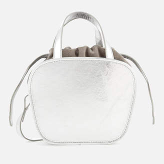 Meli-Melo Women's Rosetta Cross Body Bag - Silver