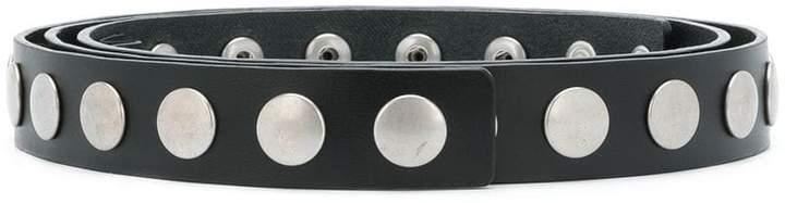 Philosophy di Lorenzo Serafini studded skinny belt