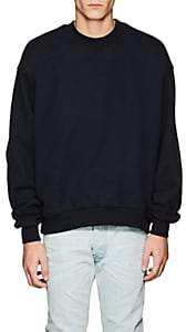 Fear Of God Men's Cotton French Terry Oversized Sweatshirt-Navy