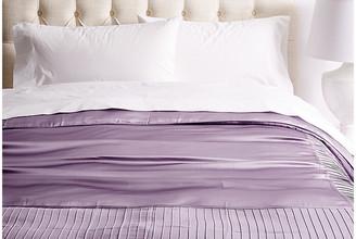 Kumi Kookoon French Pleat Silk Duvet Cover - Lavender