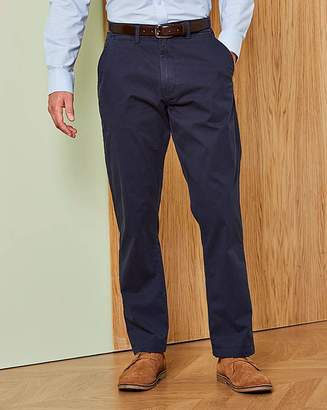Capsule Navy Stretch Chinos 35in
