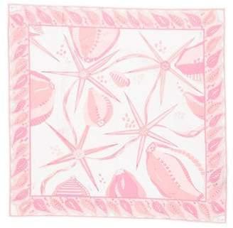 Emilio Pucci Woven Floral Print Scarf