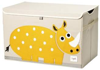 3 Sprouts Rhino Chest Toy Box