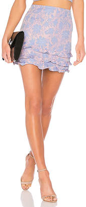 LPA Tiered Ruffle Mini Skirt