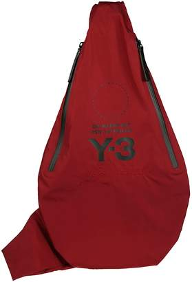 adidas Y-3 Logo Printed Crossbody Backpack