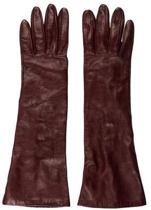 Portolano Silk-Lined Leather Gloves