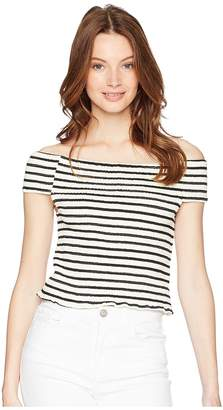 Bishop + Young Stripe Tube Top Women's Clothing
