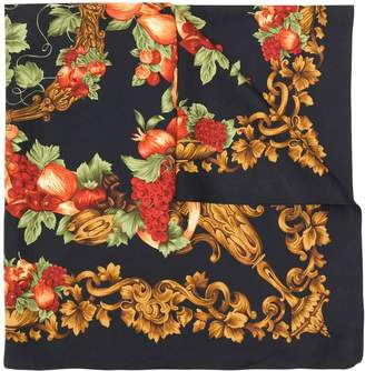 Christian Dior Pre-Owned 1980's floral scarf