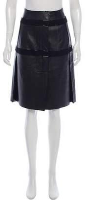 Calvin Klein Collection Knee-Length A-Line Skirt