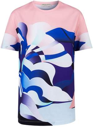 Emilio Pucci Abstract Flower Print T-Shirt