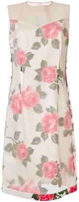 Maison Margiela floral print dress