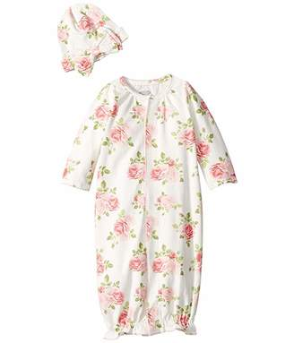 ddfaf2f69713 Mud Pie Rose Convertible Gown Set (Infant)