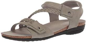 Easy Street Shoes Women's Zone Flat Sandal