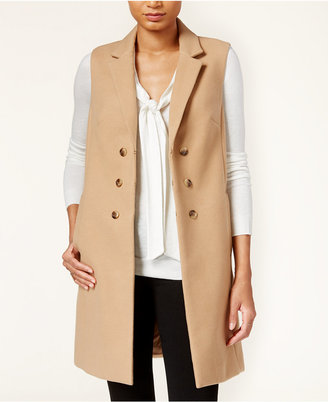 Maison Jules Gilet Trench Vest, Only at Macy's $89.50 thestylecure.com