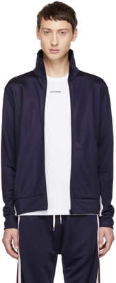 Band Of Outsiders Navy Logo Track Jacket