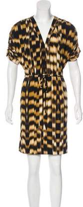 Calvin Klein Abstract Print Shift Dress